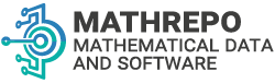 Mathematical Data and Software Repository Banner